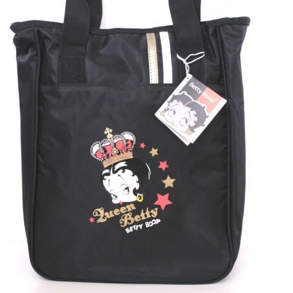 Borsa donna Queen Betty Boop - Nera
