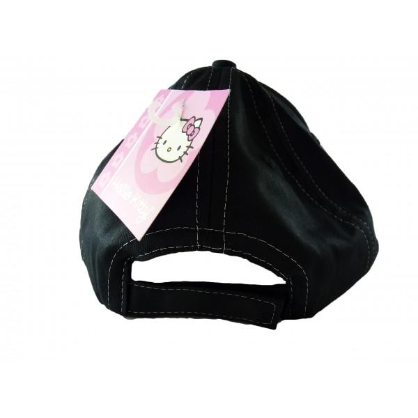 Cappellino Hello Kitty - Nero con strass