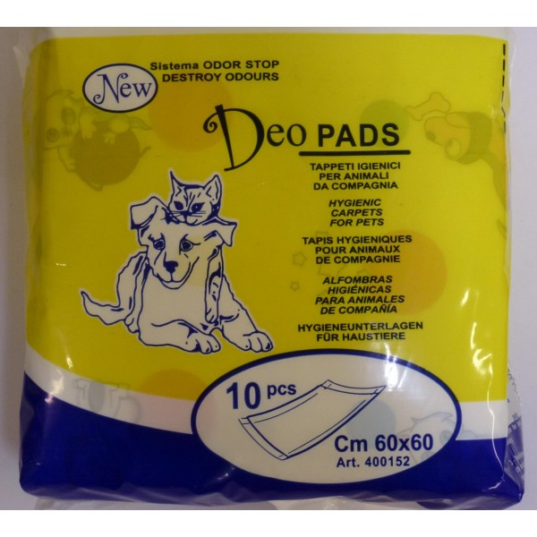 Tappeti igienici per animali da compagnia - cm 60x60