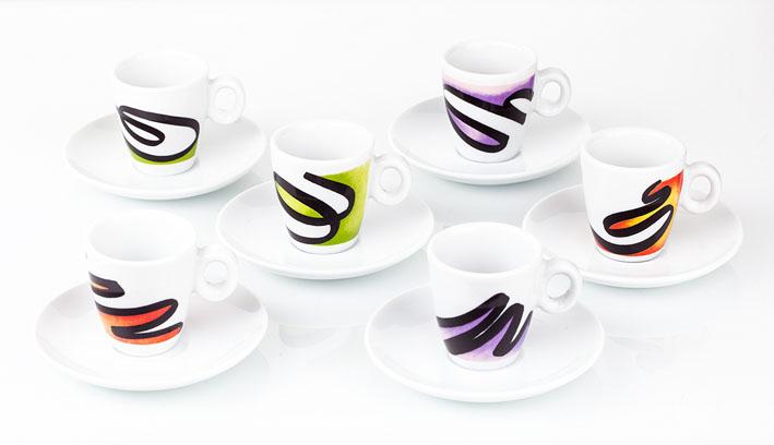 CAFFE' - Tazze e tazzine da caffè in porcellana Segno