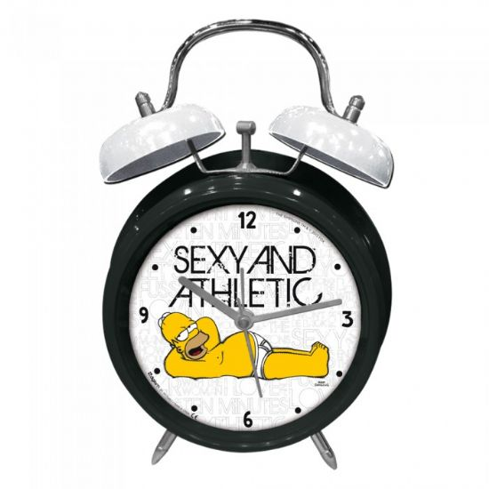 Orologio da comodino Homer Simpson - Originale I Simpson - 10cm