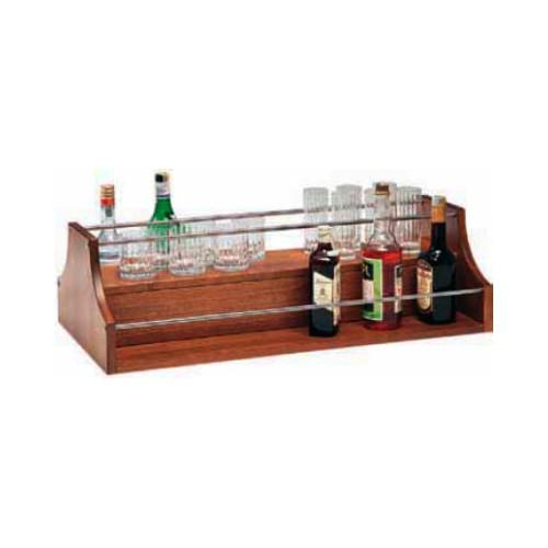 Espositore liquori per carrello di servizio cm. 88x46x37