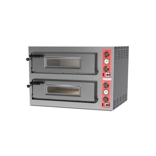Forno pizza pizzeria elettrico 4+4 pizze 400 volt