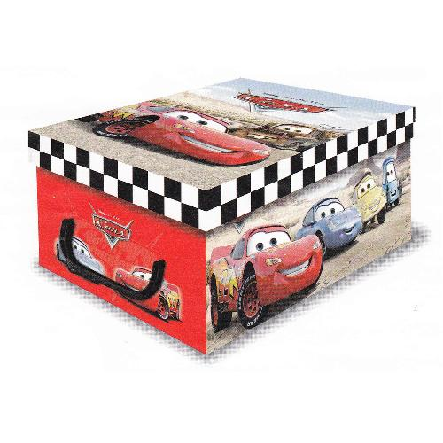Stock 5 scatole per la casa mini box Disney Pixar Cars - 32x23x14cm