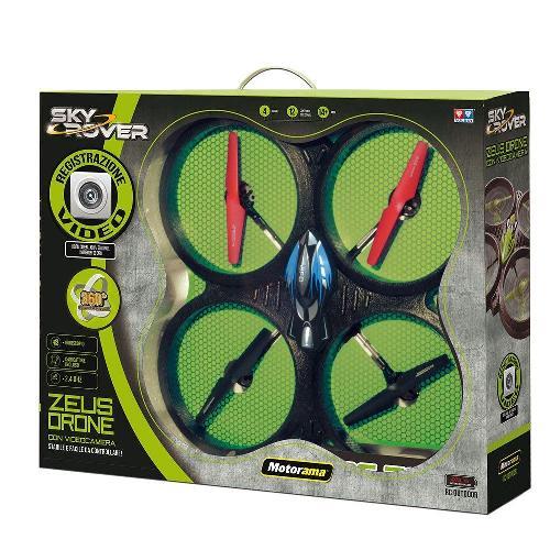 Motorama 502521 - Zeus Con Drone Telecamera 4 Canali Con Giroscopio
