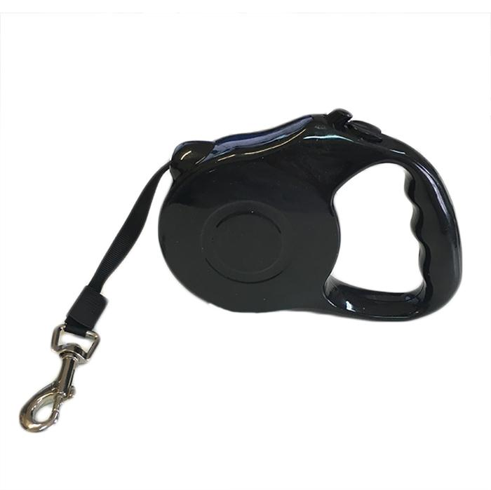 Guinzaglio estendibile per cani - Max 15 kg - Colore Nero - Start&Stop