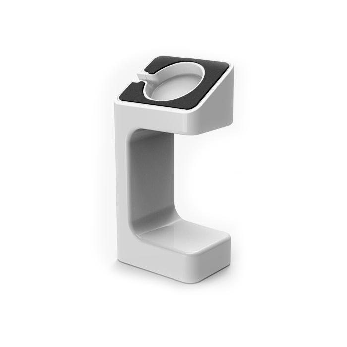 Supporto Base Stand per Apple Watch Series 1 e 2 - 38 e 42 mm - Bianco