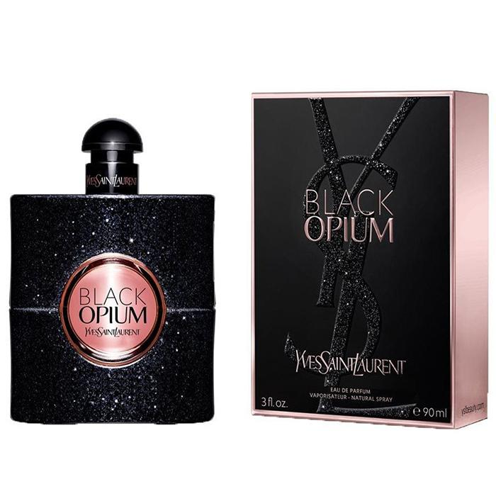 YSL Yves Saint Laurent - Black Opium -90ml-Eau De Parfum EDP Profumo