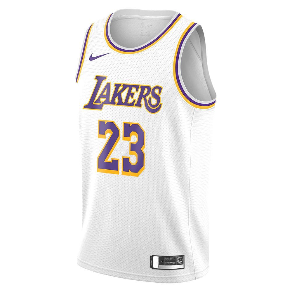 Canotta Nike Swingman NBA - LeBron James - Los Angeles Lakers Association Edition