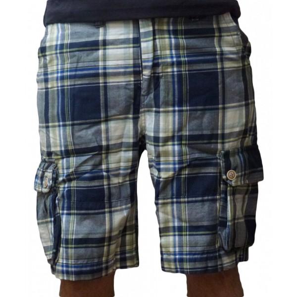Abercrombie & Fitch - Shorts Bermuda - Taglia M - Blu